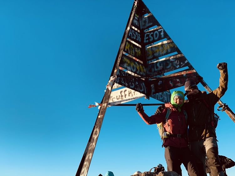 Mt Toubkal Morocco North Africa - Atlas Mountains 4167 m